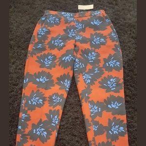 NWT J. Crew Firework Tuxedo Pants Sz 4